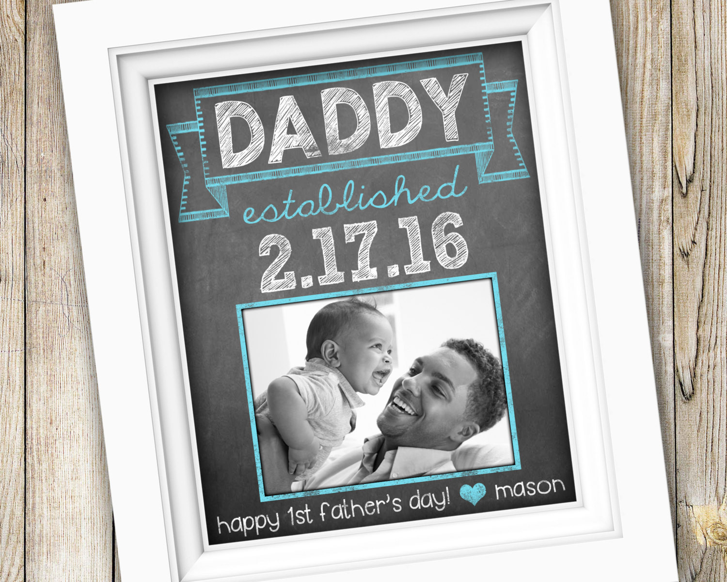 1St Father'S Day Gift Ideas From Baby  First Time Dad Gift Father s Day Gift for Him New