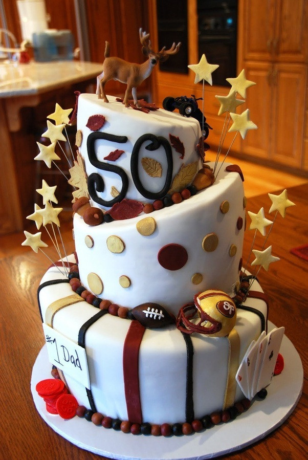 50th Birthday Cake Ideas For Her  What are some ideas for a 50th birthday surprise party for