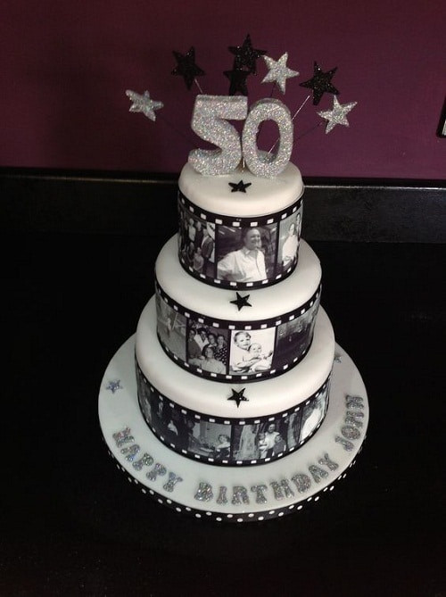 50th Birthday Cake Ideas For Her  34 Unique 50th Birthday Cake Ideas with My Happy