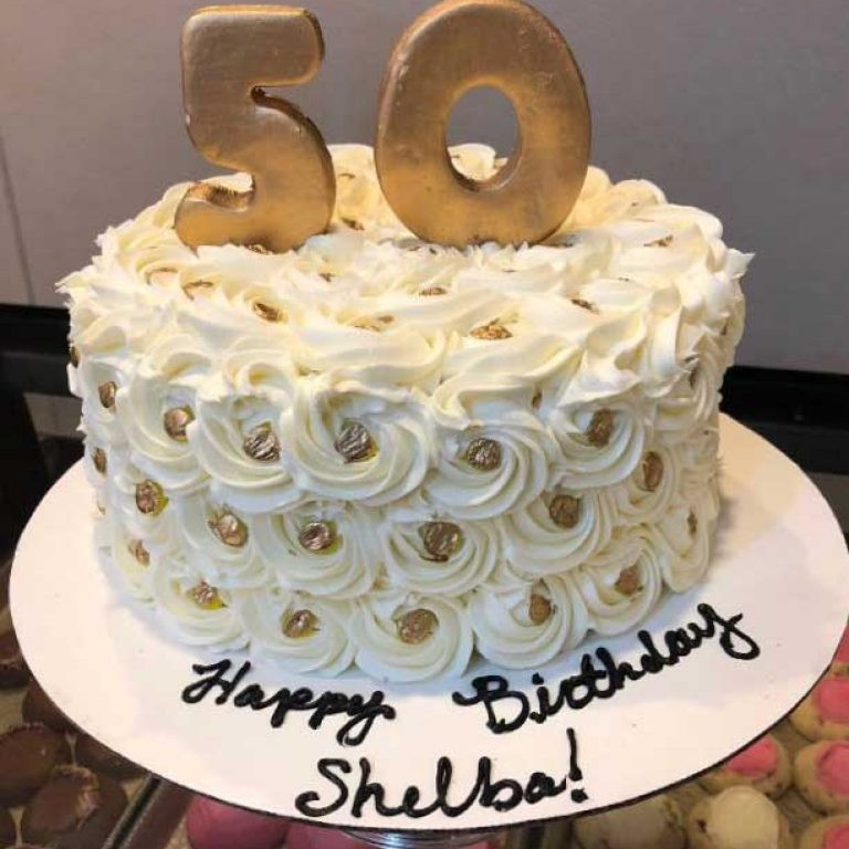 50th Birthday Cake Ideas For Her  Birthday Cakes for Adults Celebrity Café and Bakery