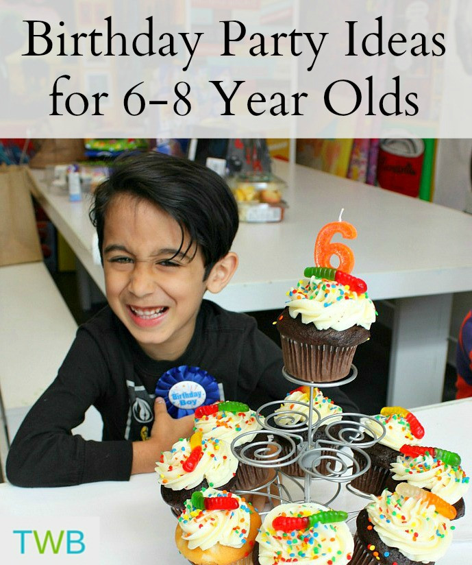 8 Year Old Boy Birthday Party Theme Ideas  5 Birthday Party Ideas for Your 6 8 Year Olds The Write