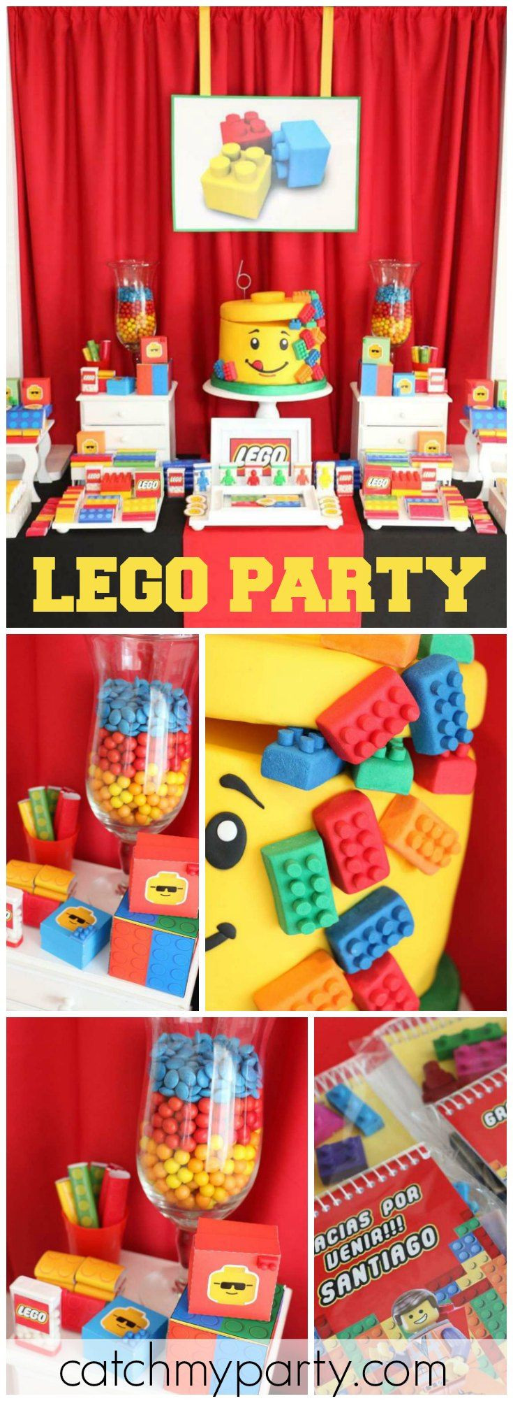 8 Year Old Boy Birthday Party Theme Ideas  362 best Lego Party Ideas images on Pinterest