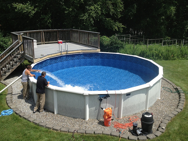 Above Ground Pool Installers  Ground Pool Installation and Cost