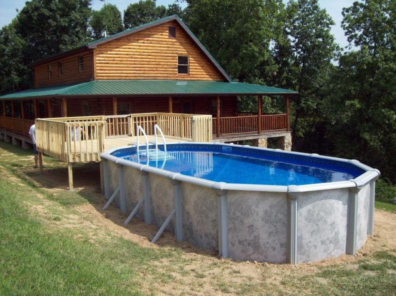 Above Ground Pool Installers  Ground Pool Installation Cost and How to Install