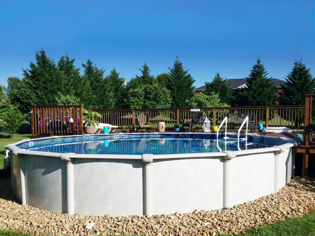 Above Ground Pool Installers  Ground Pool Installation s The Pool Factory
