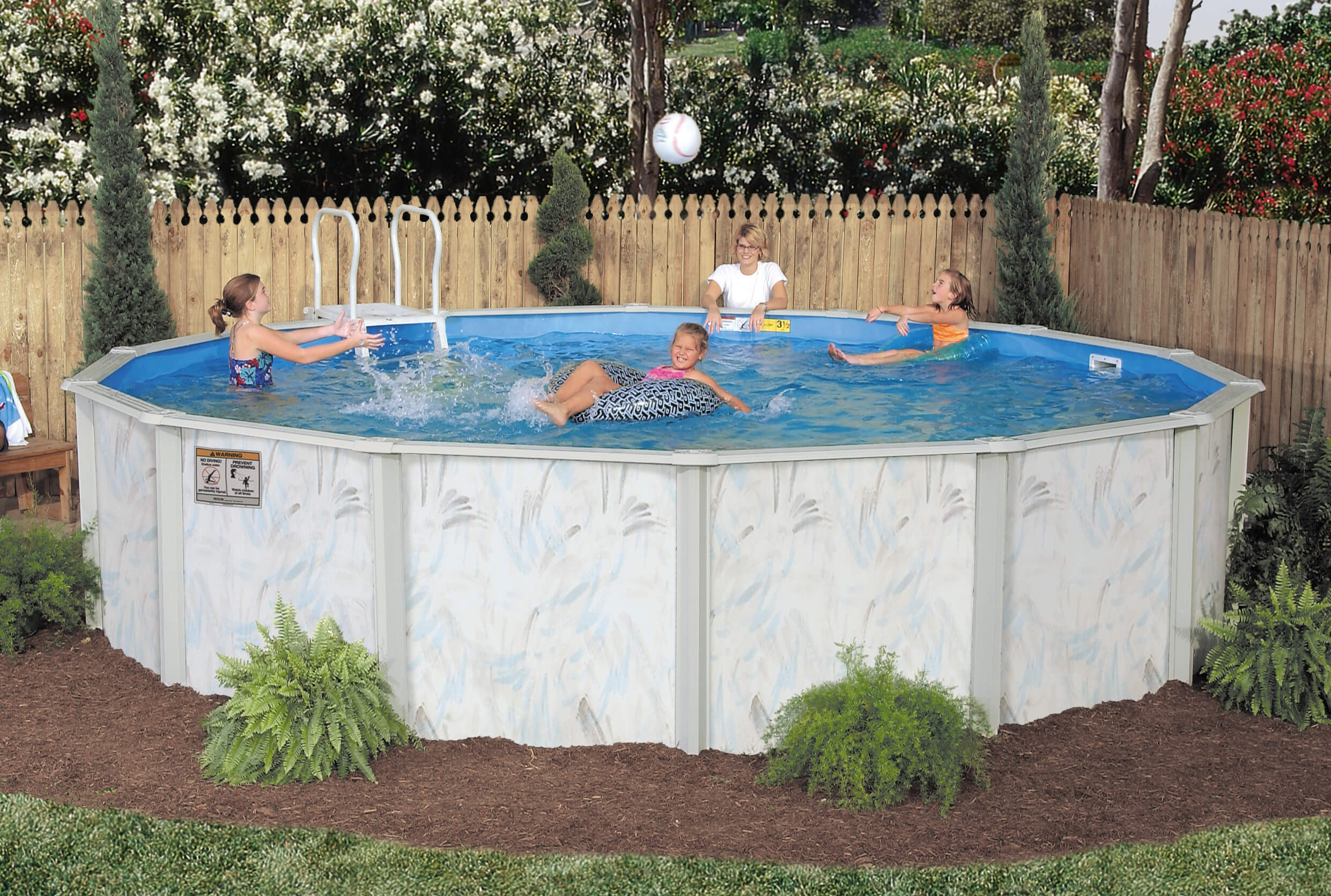 Above Ground Pool Manufacturers  Seville Pools Ground Swimming Pools