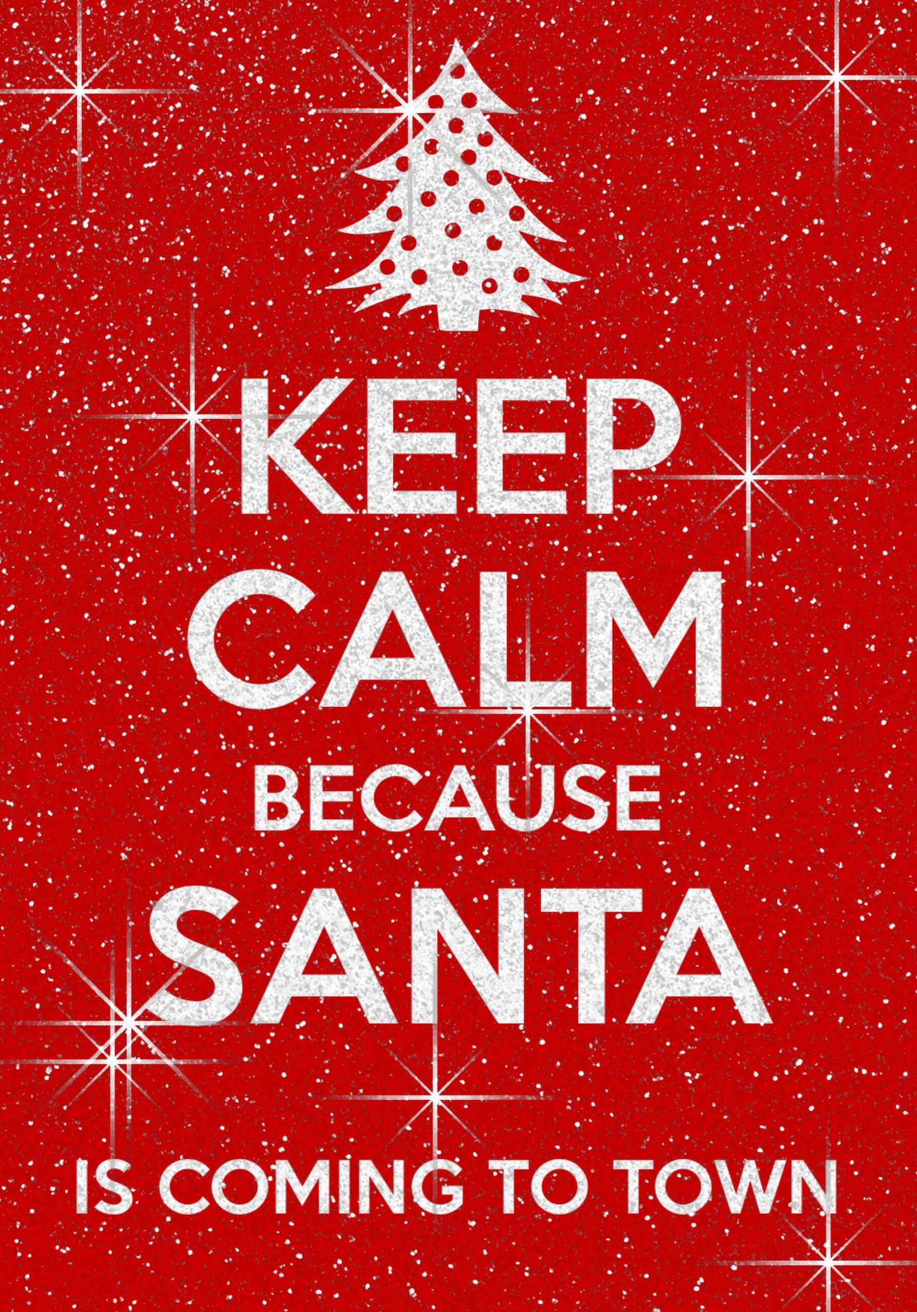 Almost Christmas Quotes  It s almost Christmas woohoo Santa Claus is ing to