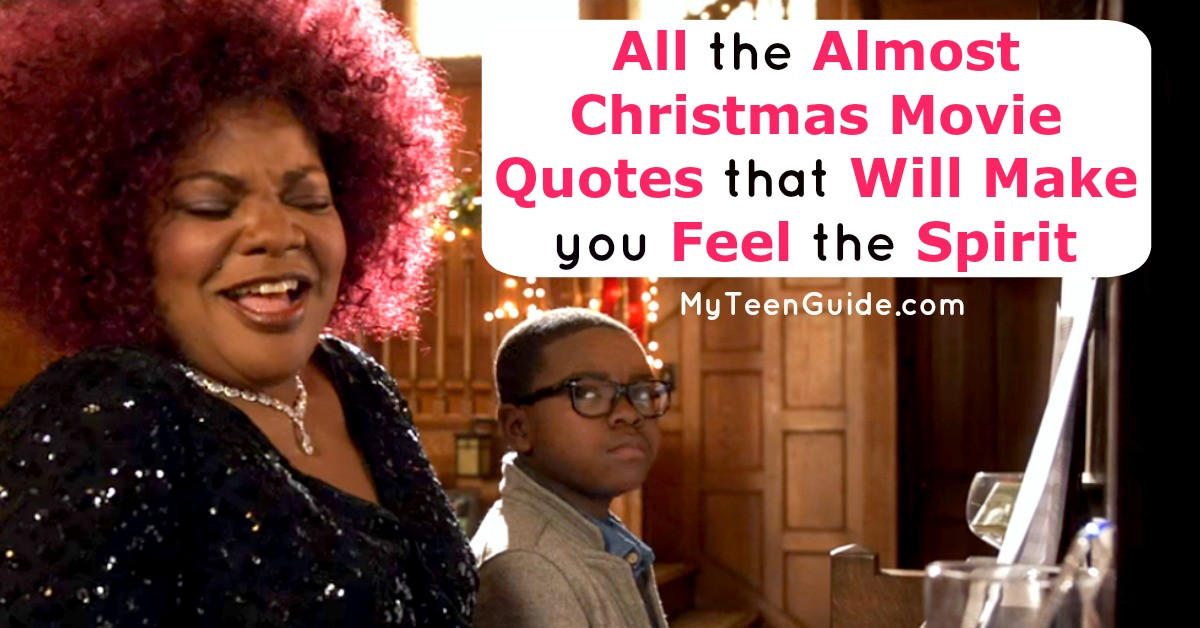 Almost Christmas Quotes  All The Almost Christmas Movie Quotes To Make You Feel The