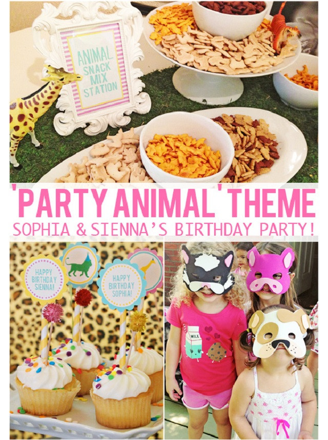 Animals For Kids Party  14 fun and unique birthday party themes for kids of all ages