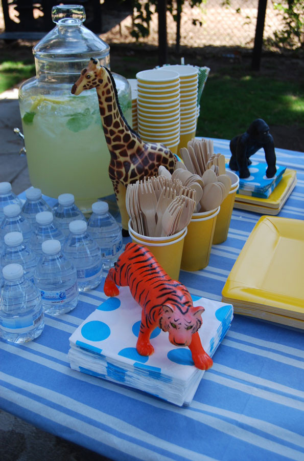 Animals For Kids Party  Zoo Animals First Birthday Party Evite