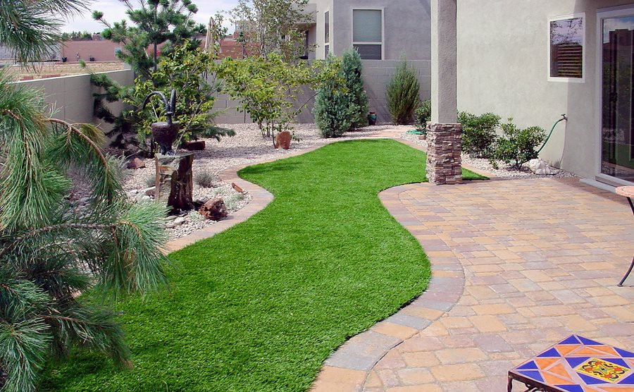 Artificial Outdoor Landscaping  Lawn Planning & Design Landscaping Network