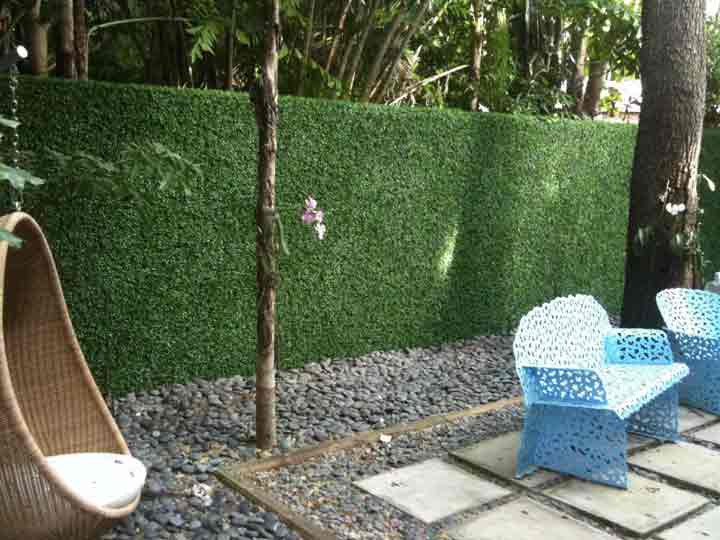 Artificial Outdoor Landscaping  Infuse your landscapes with charming shades of elegance