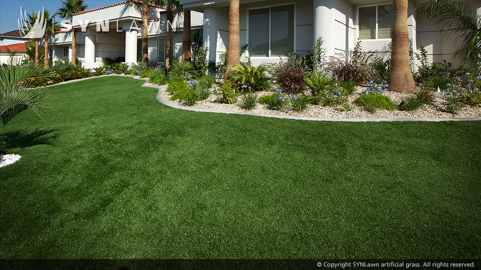 Artificial Outdoor Landscaping  SYNLawn lawn and landscape installations gallery