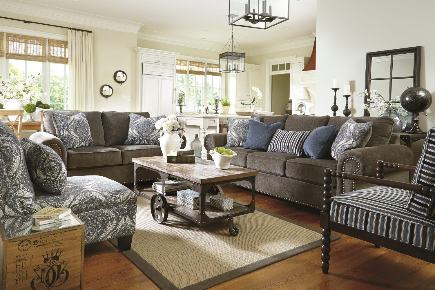 Ashley Furniture Living Room Tables  Living Room Furniture Layout Guide & Plan Ideas