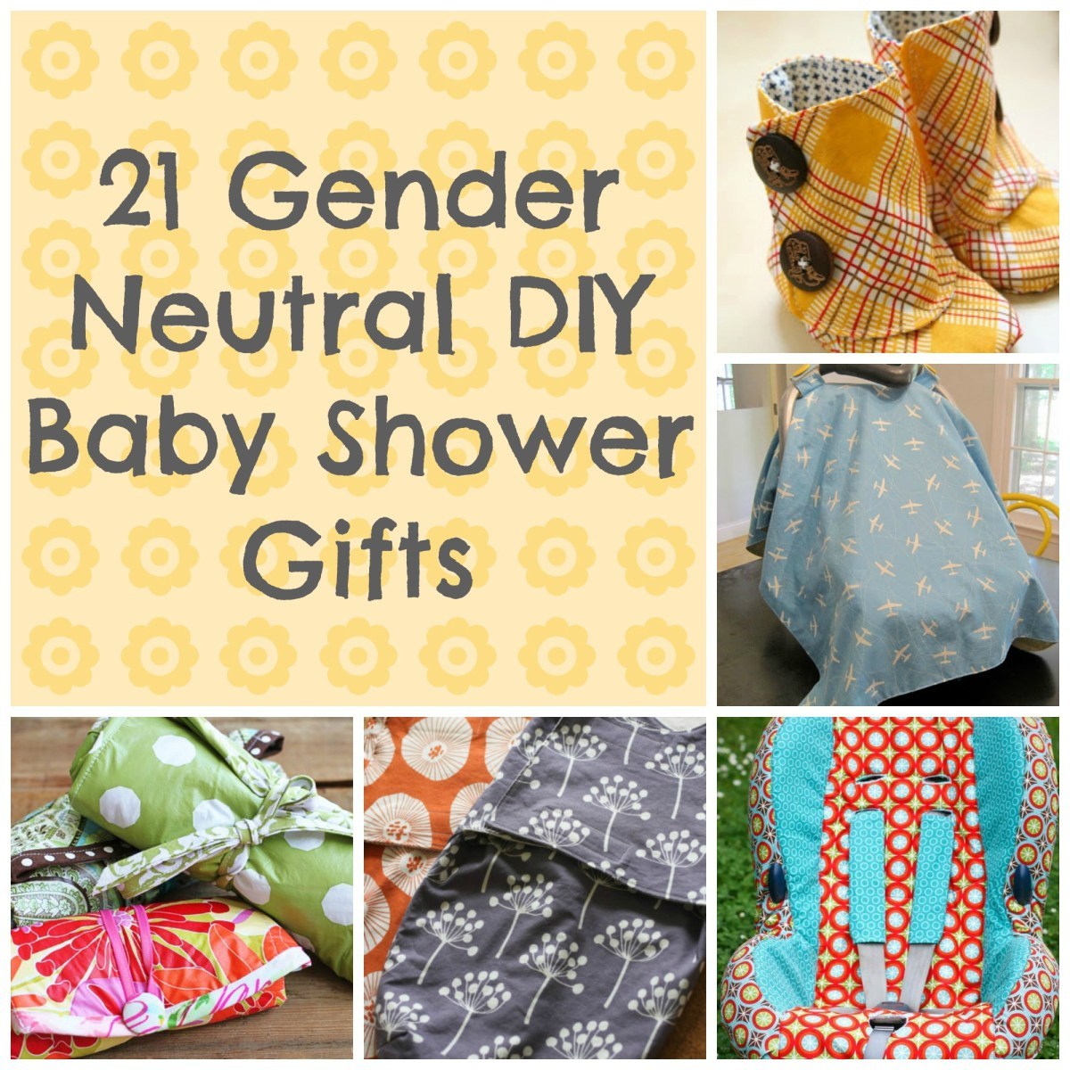 Awesome Baby Gift Ideas  21 Awesome DIY Baby Shower Gift Ideas That Are Gender Neutral