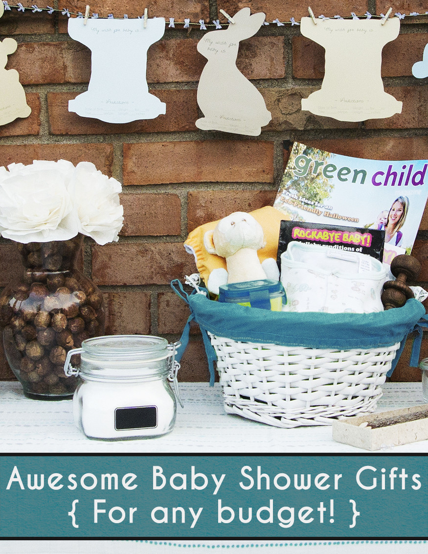 Awesome Baby Gift Ideas  Fluffin Awesome Baby Shower Gift Ideas