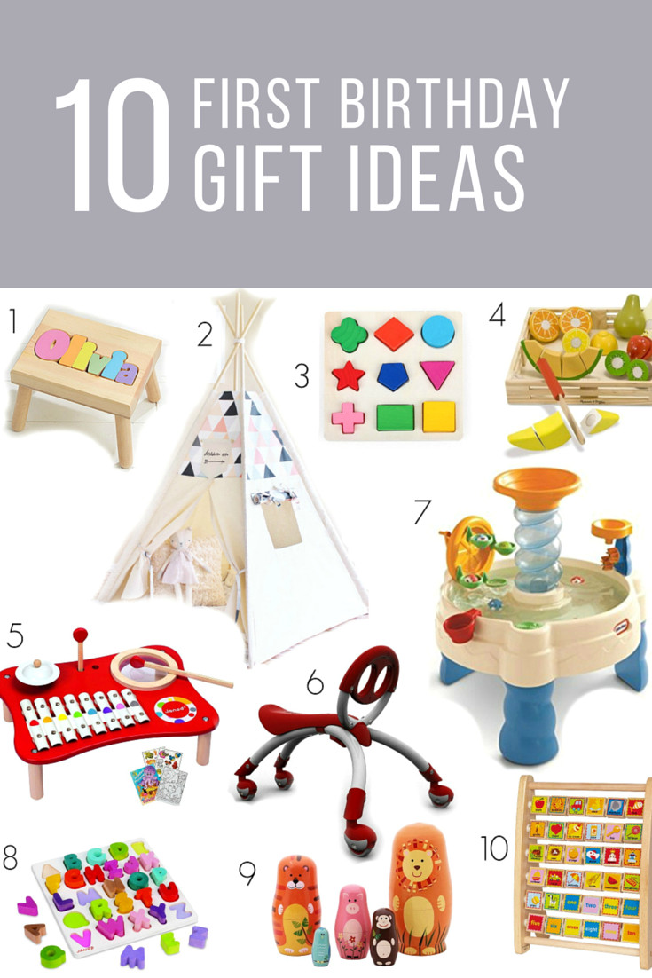 Baby Birthday Gift Ideas  It s a ONE derful Life First Birthday Gift Ideas My