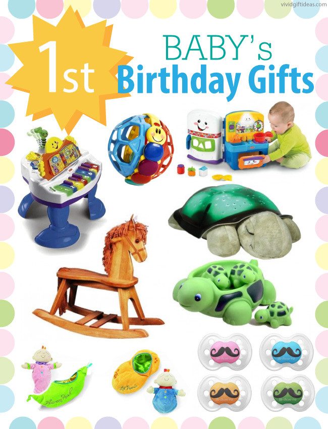 Baby Birthday Gift Ideas  1st Birthday Gift Ideas For Boys and Girls Vivid s