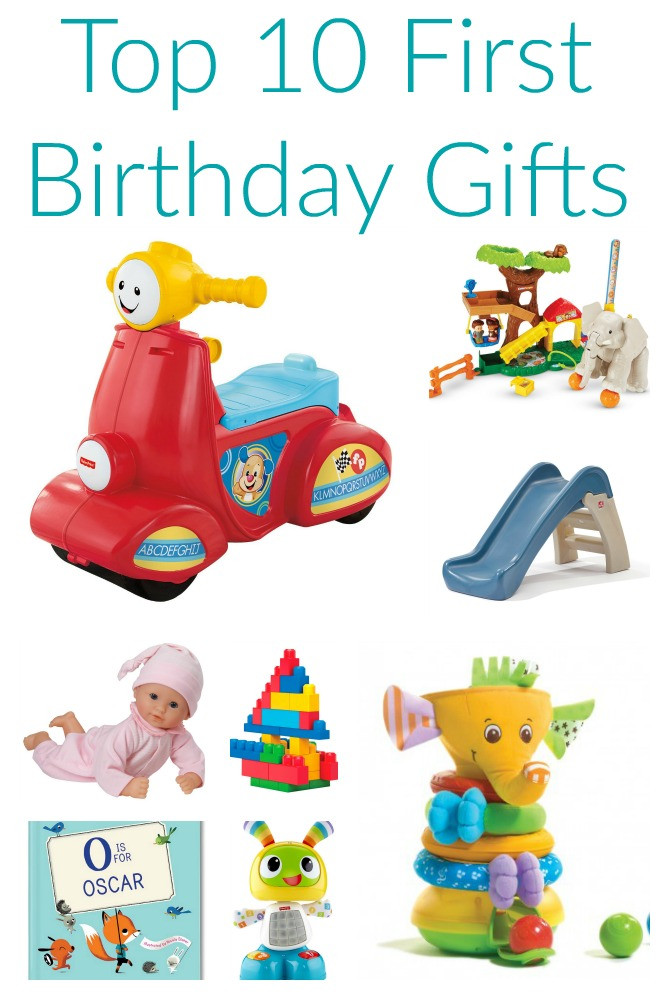 Baby Birthday Gift Ideas  Friday Favorites Top 10 First Birthday Gifts The