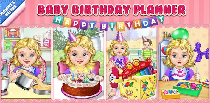 Baby Birthday Party Planner  Play Baby Birthday Party Planner Game line Baby