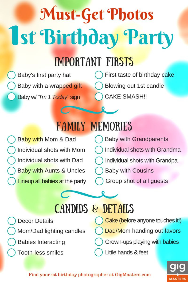 Baby Birthday Party Planner  Hire a grapher for Your 1st Birthday Party