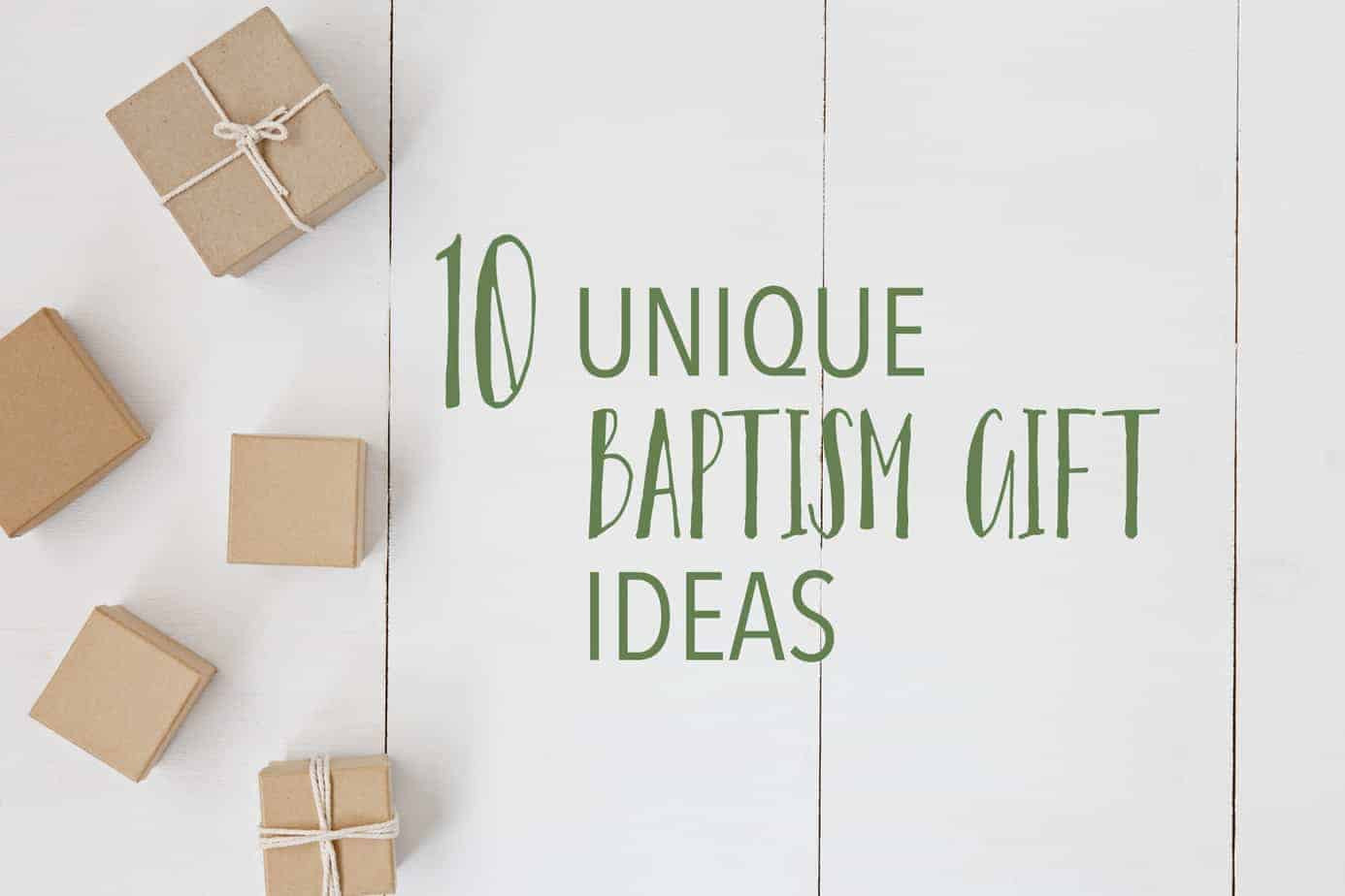 Baby Boy Christening Gift Ideas  10 Unique Baptism Gifts that are Useful & Special