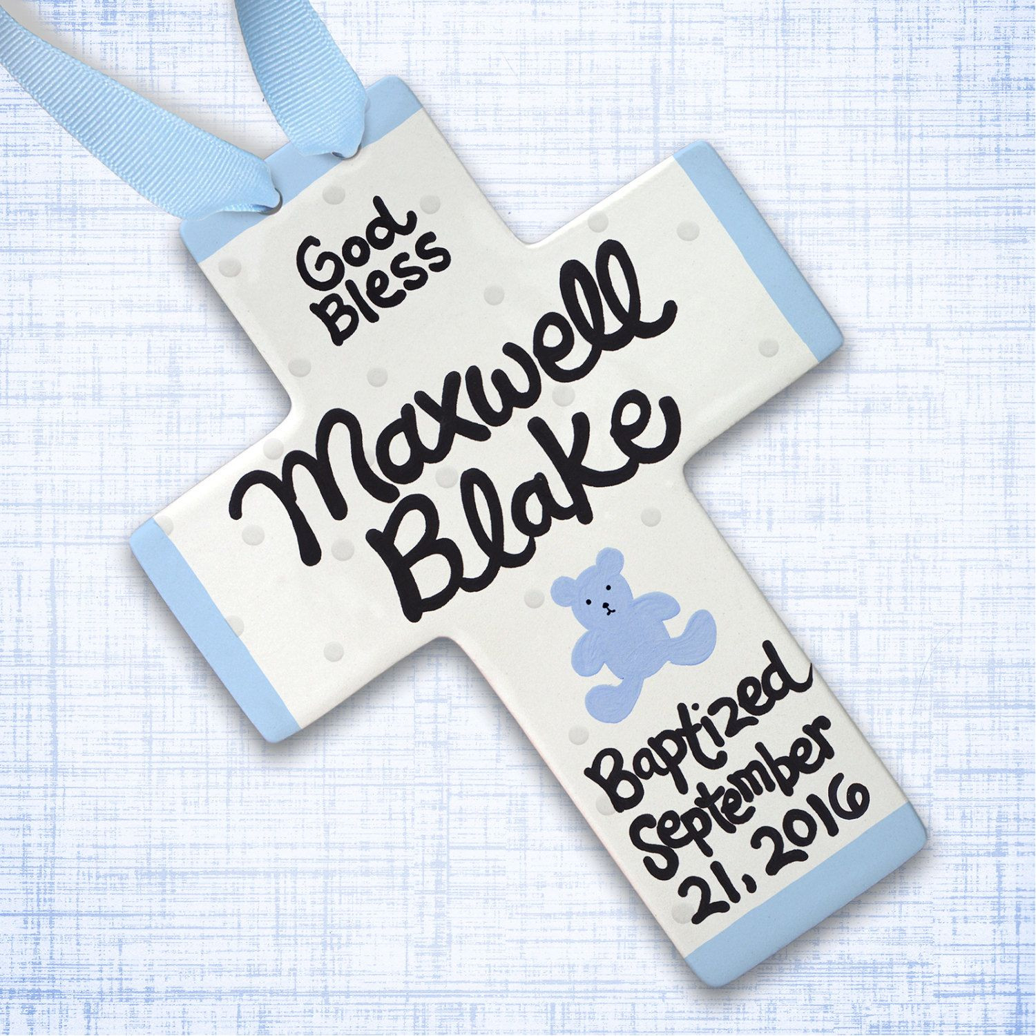 Baby Boy Christening Gift Ideas  Baptism Gift Christening Gift for Boys Personalized