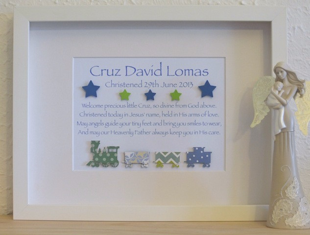 Baby Boy Christening Gift Ideas  Classic Baby Boys Unique Christening Baptism Poem Gifts