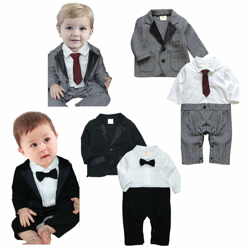 Baby Boy Party Clothes  Baby Boy Wedding Tuxedo Formal Party Wear Suit Clothes