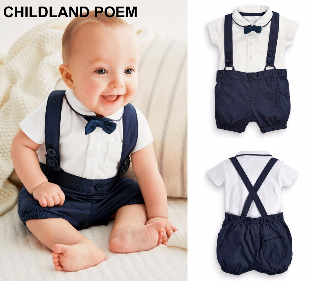 Baby Boy Party Clothes  Aliexpress Buy Summer baby boys clothing set 1 year