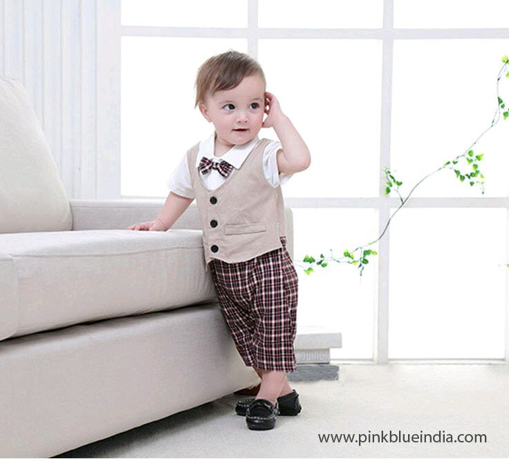 Baby Boy Party Clothes  Suggest some good partywear dress for my 6 month old baby boy