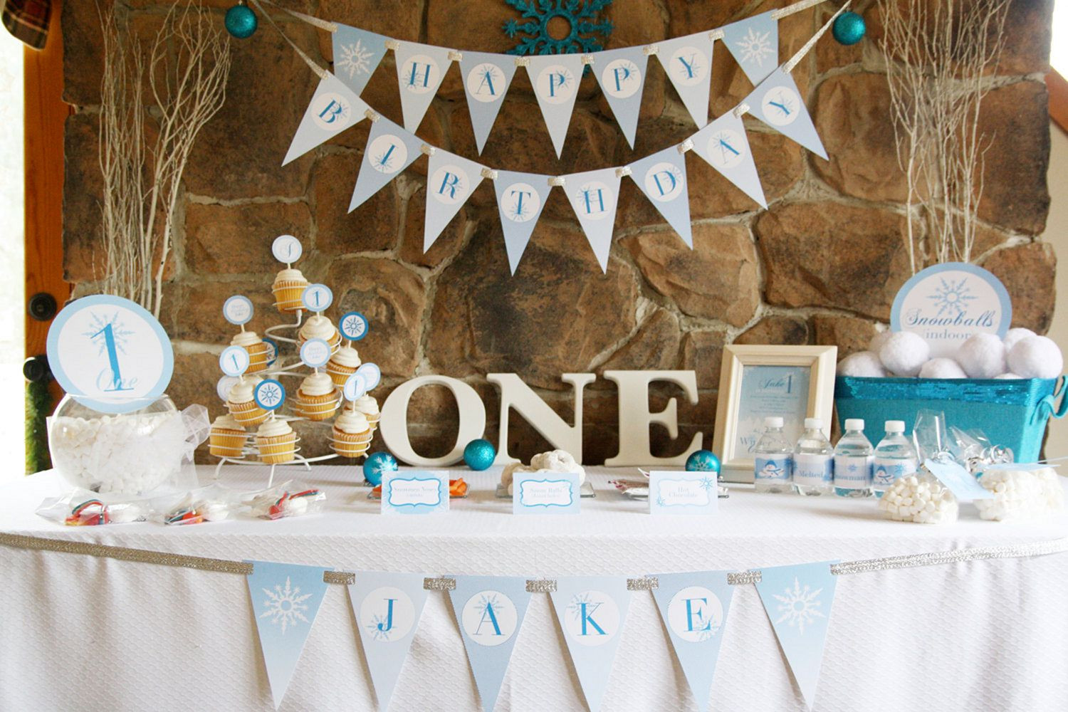 Baby Boy Themed Party  Baby Boy First Birthday Party Themes – OOSILE