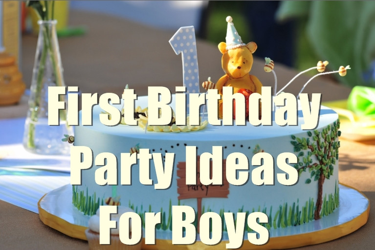 Baby Boy Themed Party  1st Birthday Party Ideas for Boys You will Love to Know