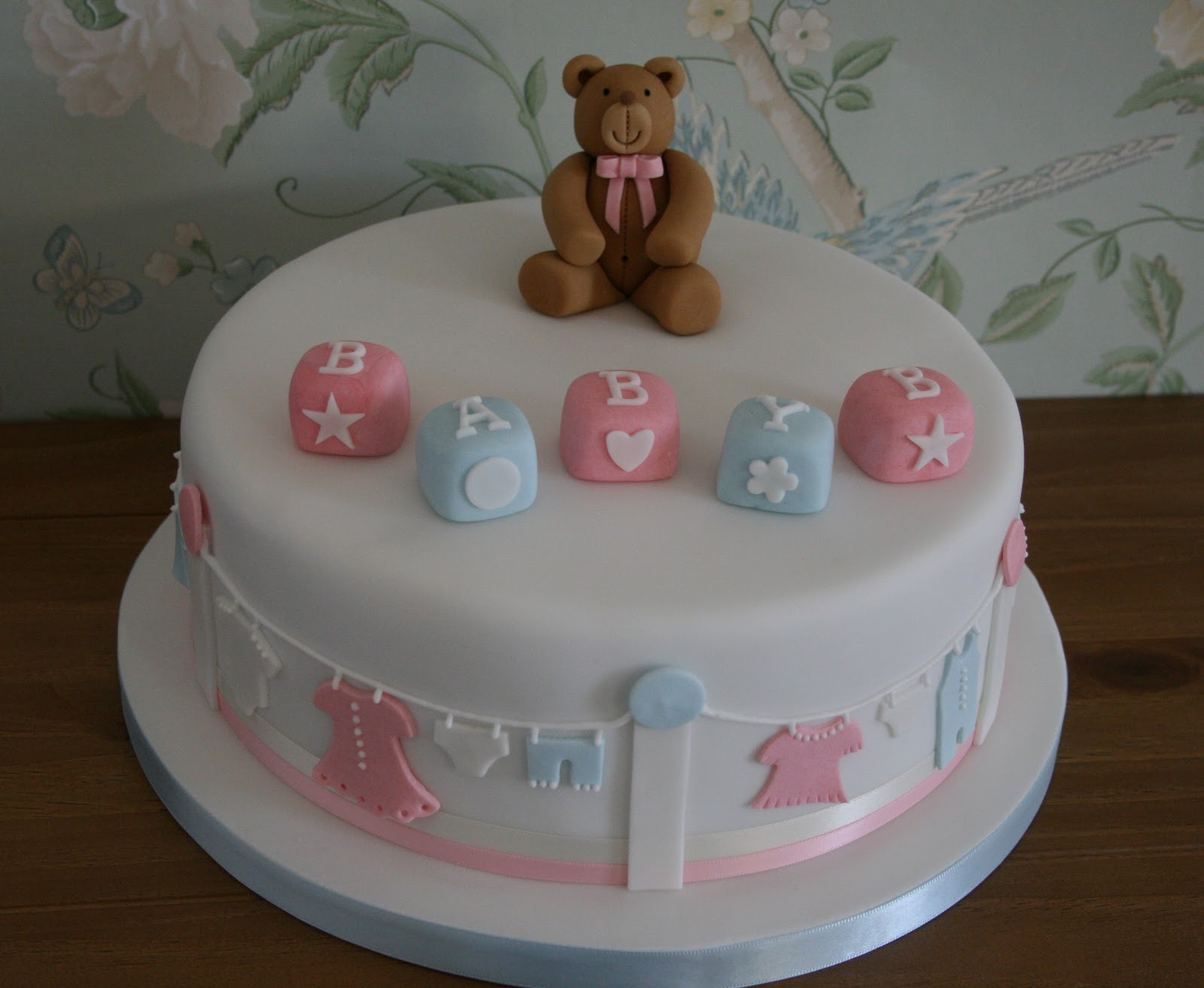 Baby Cake Decorations Ideas  70 Baby Shower Cakes and Cupcakes Ideas