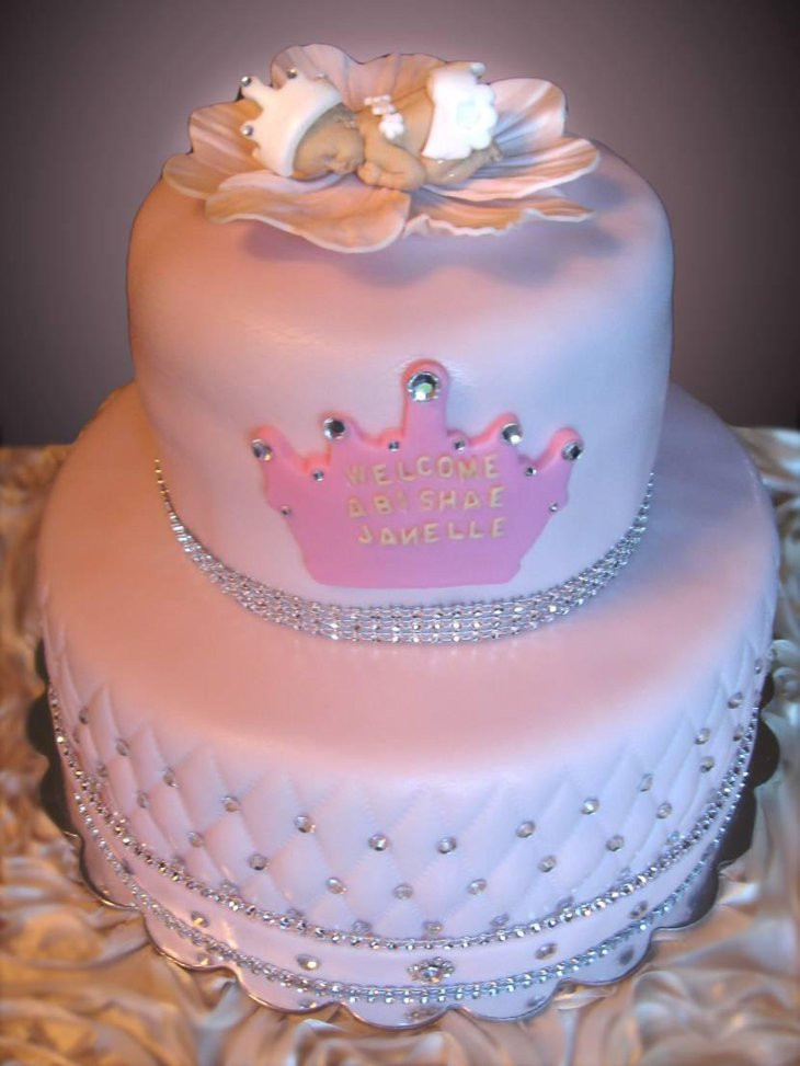 Baby Cake Decorations Ideas  35 Yummy Baby Shower Cakes For Girls