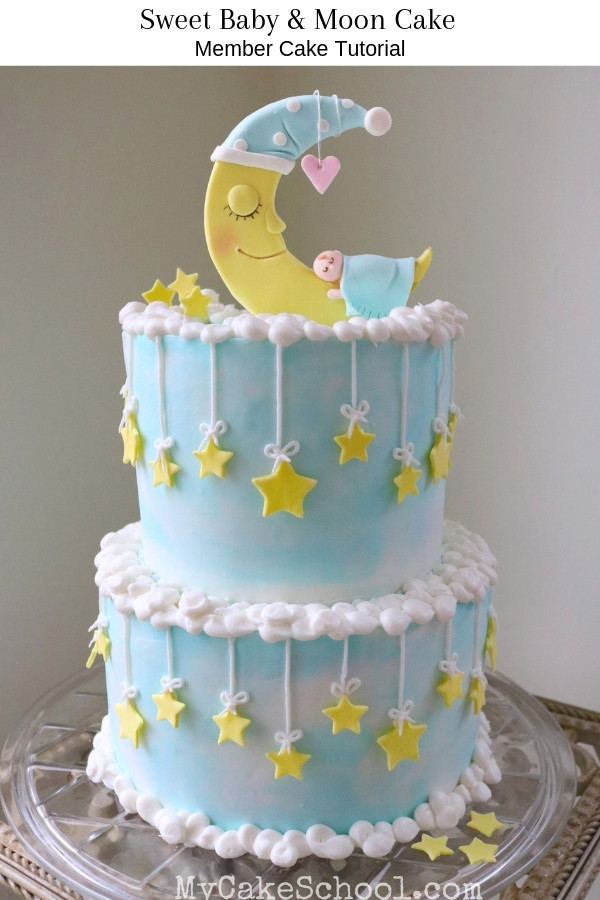 Baby Cake Decorations Ideas  Roundup of the CUTEST Baby Shower Cakes Tutorials and