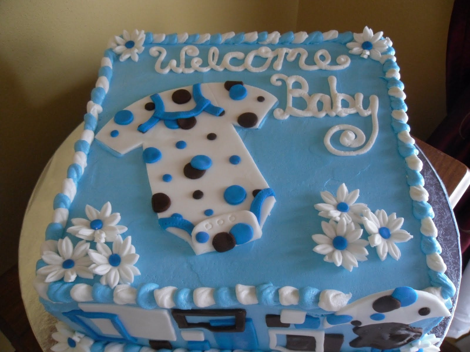 Baby Cake Decorations Ideas  10 Gorgeous Cake Designs For Baby Shower