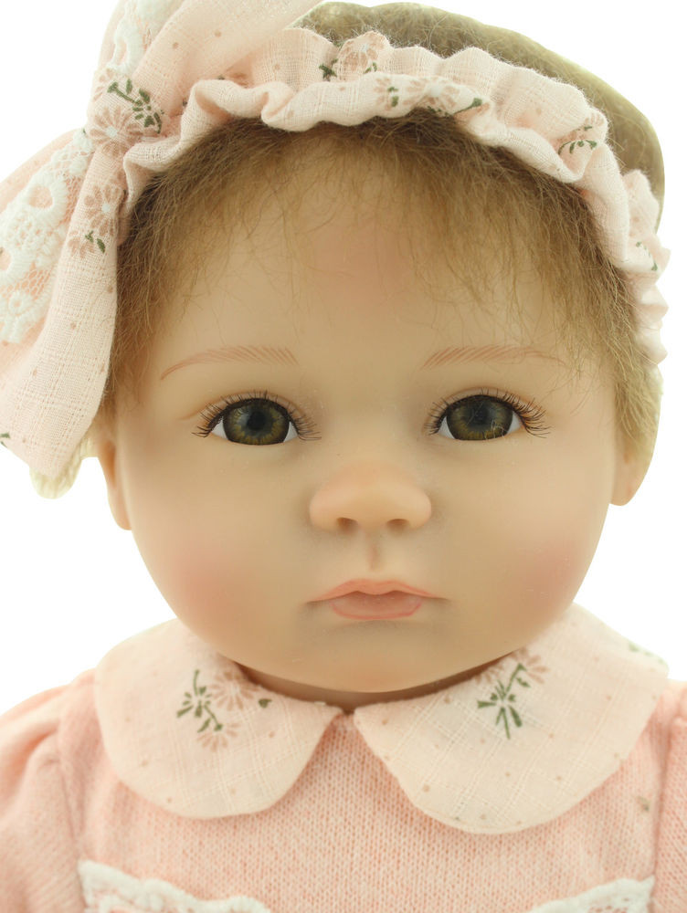 Baby Dolls With Hair  Lifelike Reborn Baby Dolls Hair Rooted Newborn Realistic