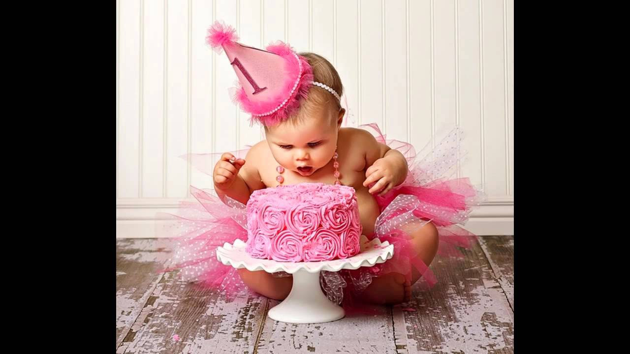 Baby First Party Ideas  Beautiful baby girl first birthday party decorating ideas