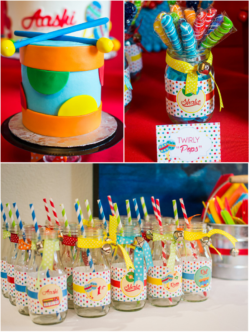 Baby First Party Ideas  Baby Jam Music Inspired 1st Birthday Party Party Ideas