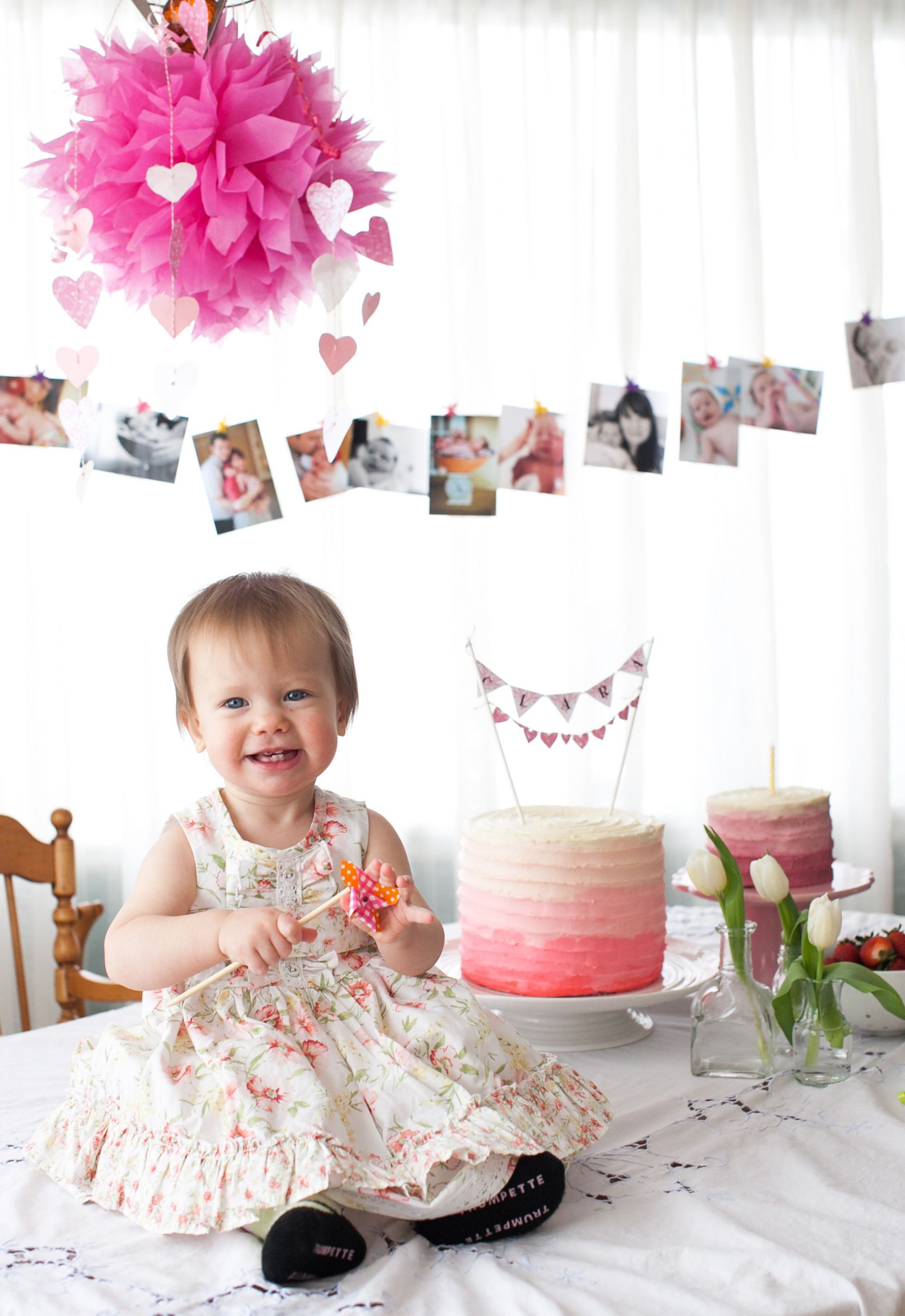 Baby First Party Ideas  First birthday party ideas recipe Apple Spice Cake with