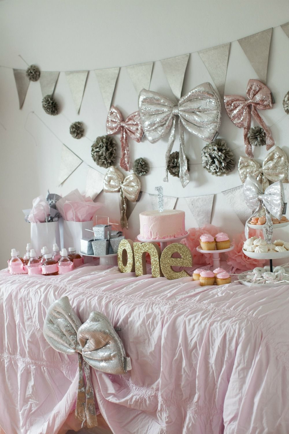 Baby Girl 1St Birthday Party Decorations  Girl First Birthday Party