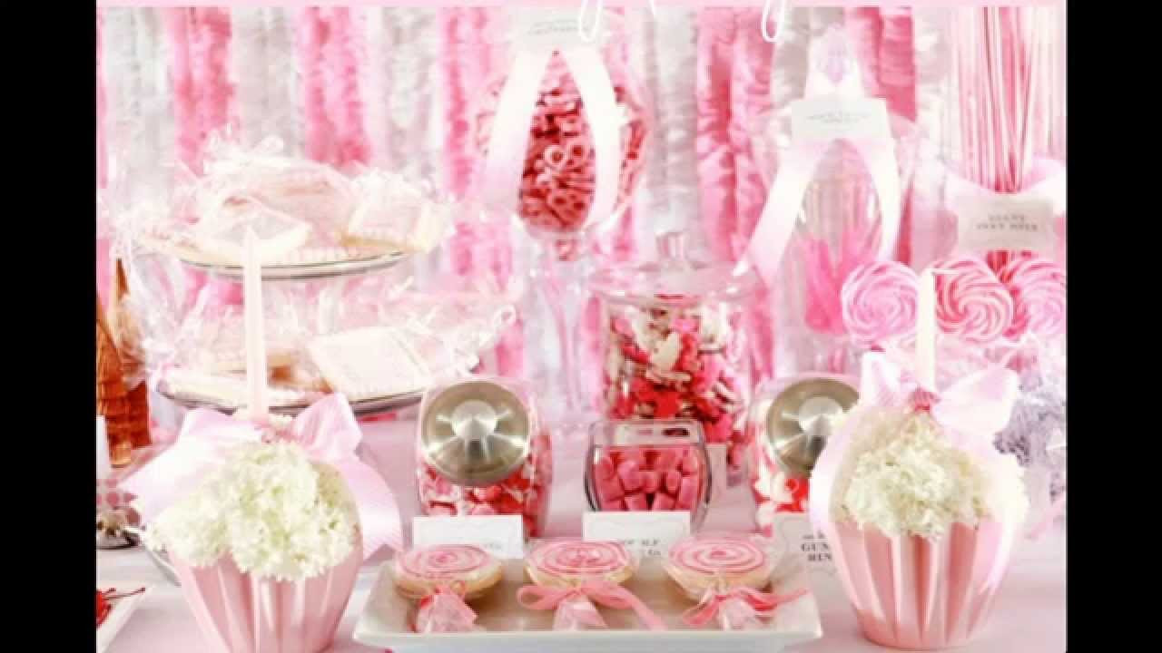 Baby Girl 1St Birthday Party Decorations  Baby girl first birthday party decorations ideas Home