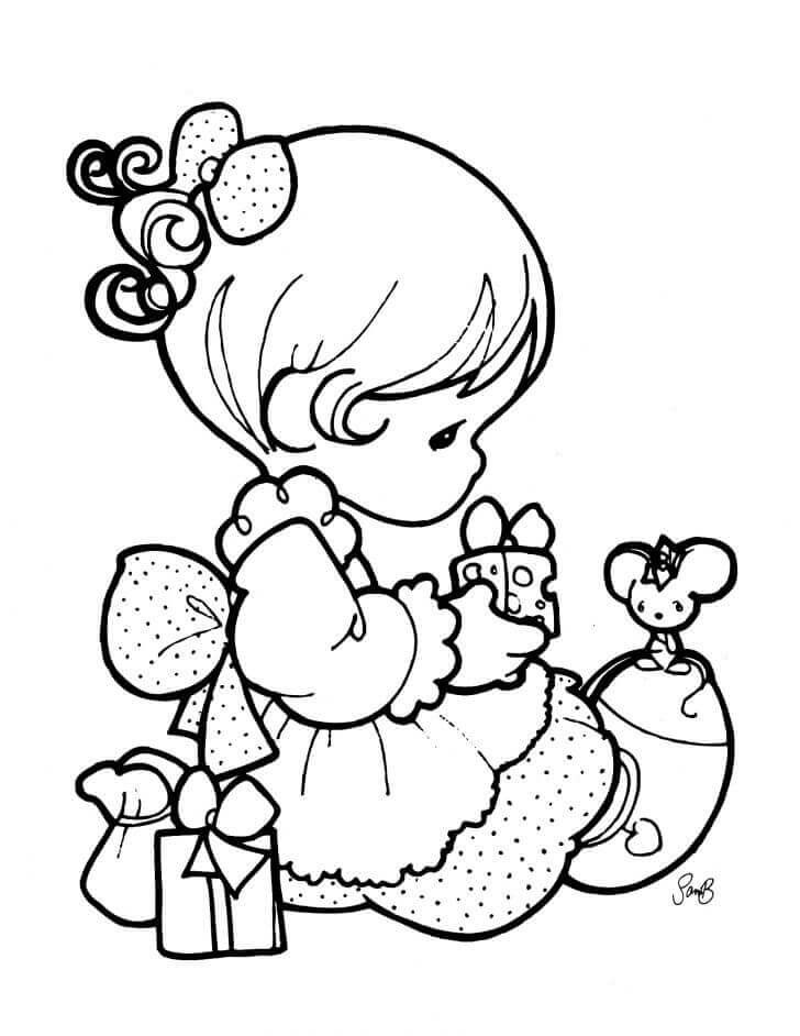Baby Girl Coloring Pages  Cute And Latest Baby Coloring Pages