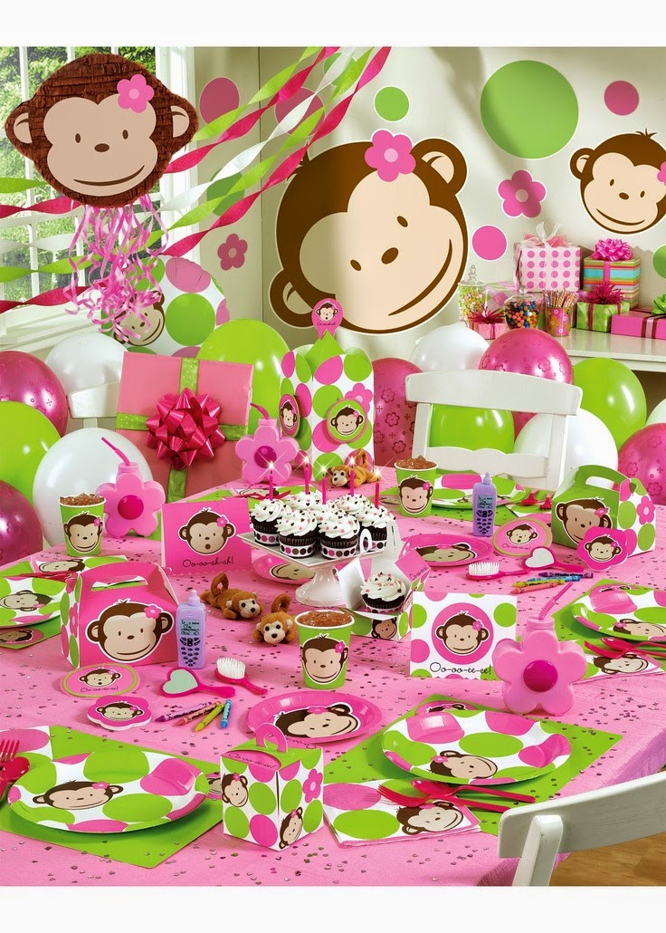Baby Girls 1St Birthday Party Supplies  34 Creative Girl First Birthday Party Themes & Ideas My