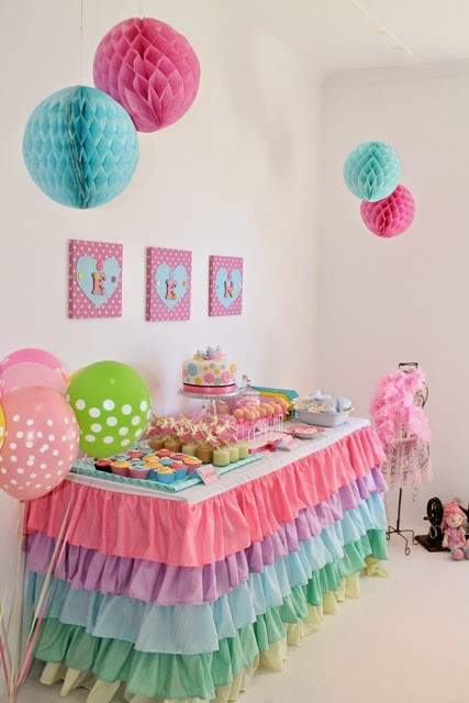 Baby Girls 1St Birthday Party Supplies  34 Creative Girl First Birthday Party Themes and Ideas