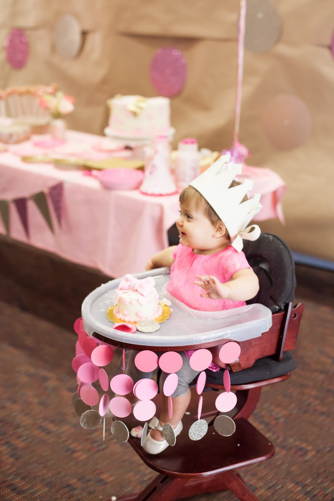 Baby Girls 1St Birthday Party Supplies  Nat your average girl 1st birthday party decor