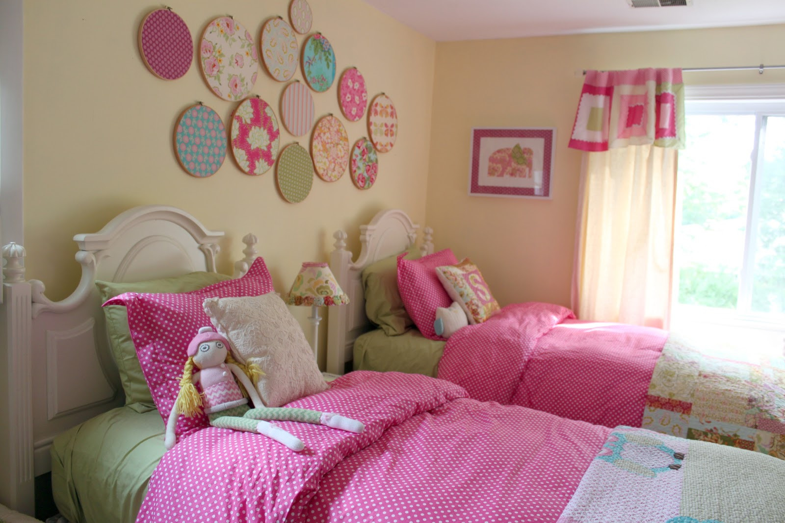 Baby Girls Bedroom Decor  Decorating Girls d Toddler Bedroom The Cottage Mama
