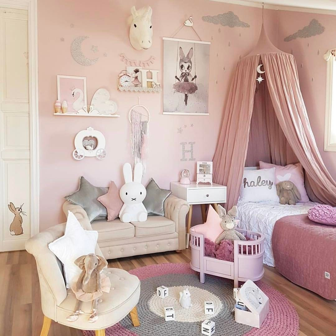 Baby Girls Bedroom Decor  Girls Room Decor And Design Ideas 27 Colorfull Picture