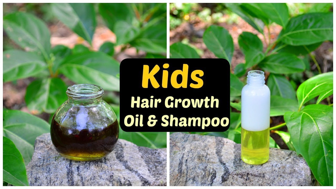 Baby Hair Growth Oil  Baby Hair Growth Oil & Shampoo For Long Thick Soft